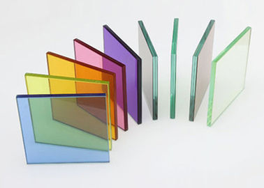 China Beautiful Colored Laminated Glass , Architectural Decorative Glass For Building Glass supplier