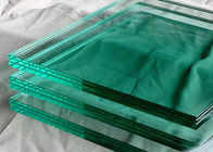 1.14PVB 5mm Tempered Safety Glass Panels , Laminated Toughened Glass For Partition