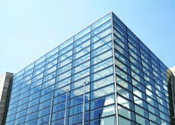 Curtain Wall Clear Tempered Glass / Frosted Security Glass With Good Heat Stability supplier
