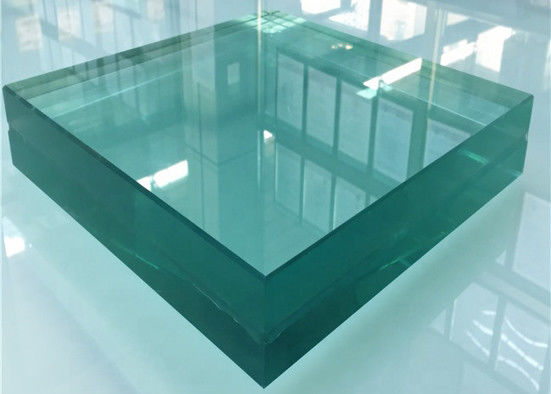 0.76PVB+8mm Tempered Laminated Safety Glass For Sunroom Commercial Building