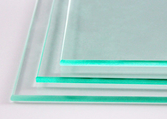 Attractive Clear Tempered Glass Size Customized Thickness 3mm~25mm For Partition