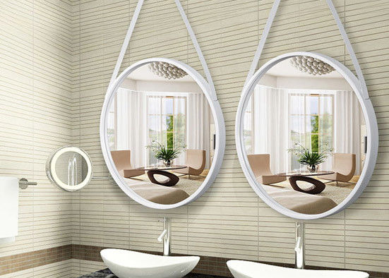 Modern Framed Large Wall Mounted Mirrors No Fading No Deformation Thickness 3-6mm supplier