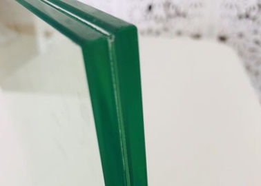 China Toughened Laminated Safety Glass , 0.38PVB 6mm Laminated Window Glass factory
