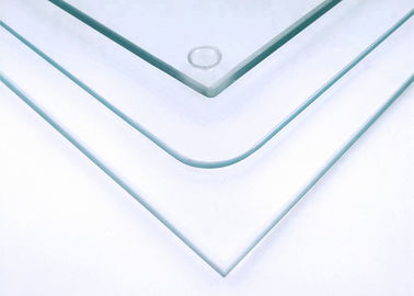 China Safety Clear Tempered Glass , 2mm Toughened Glass With Mat C / Mat V Edge factory