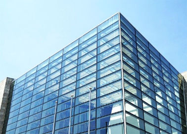 China Curtain Wall Clear Tempered Glass / Frosted Security Glass With Good Heat Stability distributor
