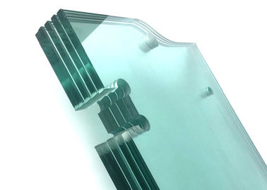 China Safety Clear Tempered Glass , High Strength 8mm Float Glass For Guardrail distributor