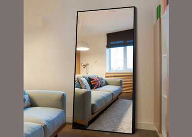 China 5mm Copper Free Large Silver Wall Mirror Easy Installation For Home Furniture distributor