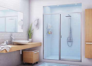 China Various Size Bathtub Shower Glass With Tempered / Laminated Processing factory