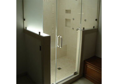 China Popular Custom Frameless Glass 4-12mm Thickness For Bathroom Shower Door factory