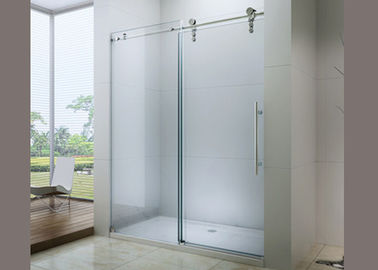 China Professional Custom Bathroom Shower Glass Easy Cleaning For Hotel / Home distributor