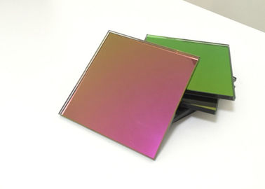 China Fashion Red Tinted Mirror Glass 6mm Thickness Flat Shape Sample Accepted distributor