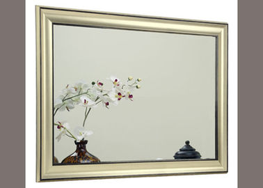 China Traditional Framed Bathroom Mirrors Anti Explosion For Home Decorative distributor