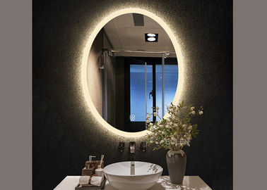 China Modern Smart LED Bathroom Mirror Waterproof For Bathroom / Decoration factory