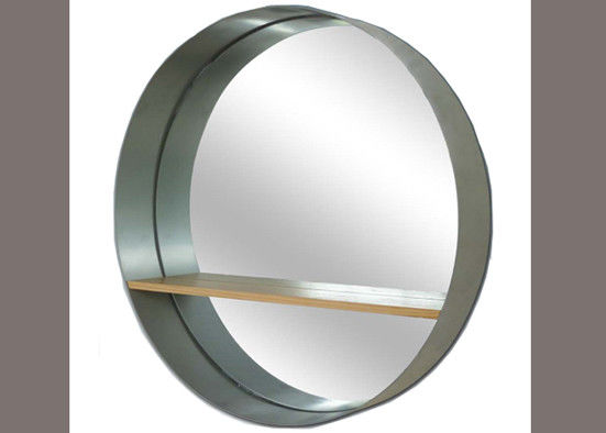 Modern Framed Large Wall Mounted Mirrors No Fading No Deformation Thickness 3-6mm